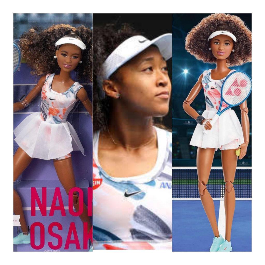 Naomi Osaka unveils own Barbie doll