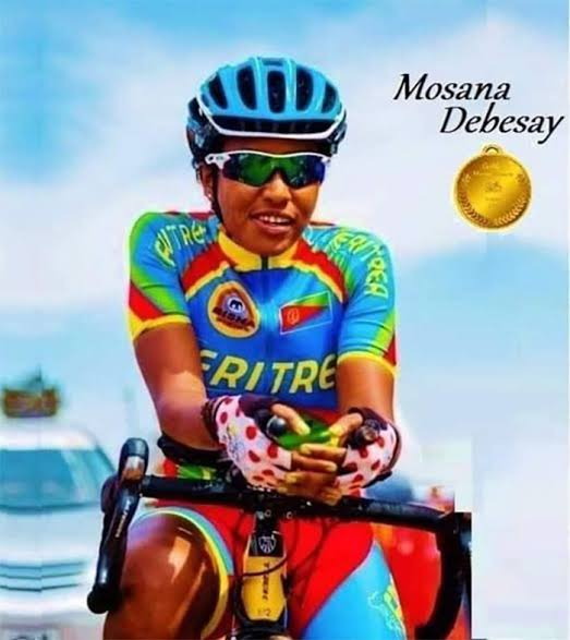 Mosana Debesay - First Black African Woman Cyclist At the Olympics