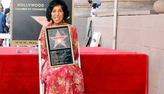 Well Deserved! Veteran Actress Marla Gibbs Honoured With Hollywood Walk Of Fame