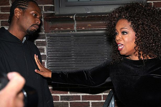 Oprah Winfrey 'Ambushed' By Man Who Claims To Be Her 'Secret Son' Outside The Late Show