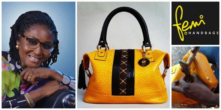 The  Story Of A Nigerian Bespoke Luxury Handbag Designer, Femi Olayebi , Who Has Created A Whole World Of Bags To Global Acclaim