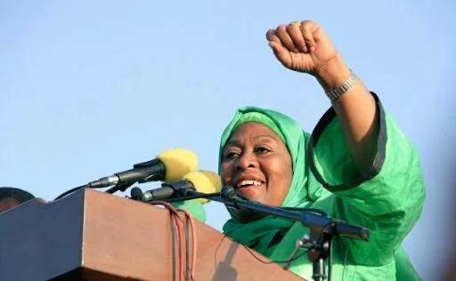 Samia Suluhu Hassan Becomes Tanzania's First Female Vice President