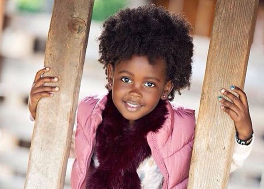 Little Lupita: 5-year-old Kenyan Auditions For top US TV Show Black-ish