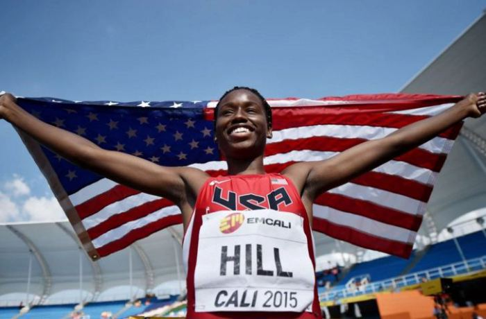 Atlanta Student Candace Hill Becomes The Fastest Teenager  In America And Excels With A 4.6 GPA!