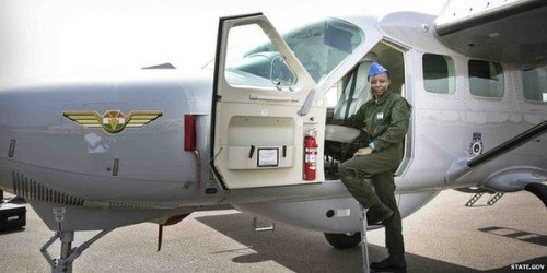 Niger Air Force Gets First Female Pilot