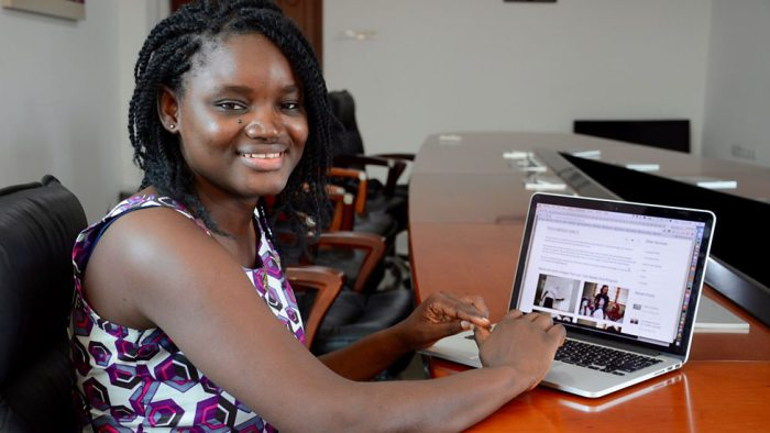 Meet Rasheeda Yehuza,  Ghanaian IT  And Social Entrepreneur Who Aspires To Be A Leading Force In Africa
