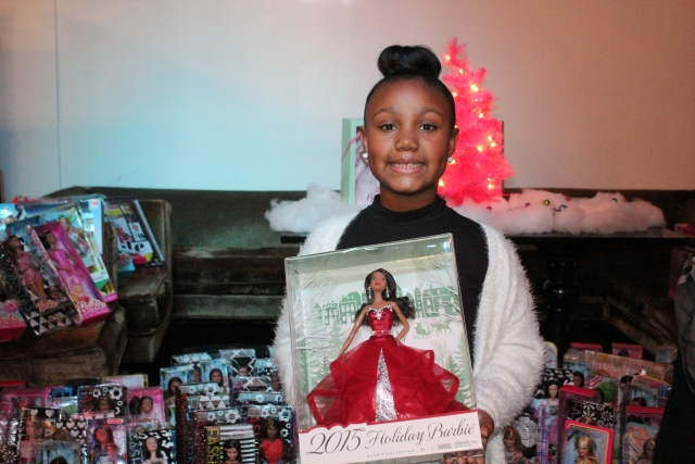 8 Year Old Collects Dolls For Needy Kids,  Organizes Fundraising Brunch