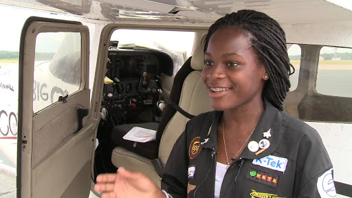 How Kimberly Anyadike Became The Youngest Black Pilot To Fly Across The Country