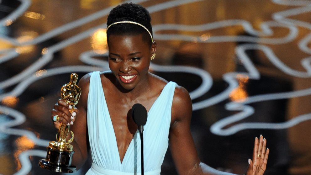 Oscar Winner Lupita Nyong'o Adds her Voice to the Oscars' Lack of Diversity