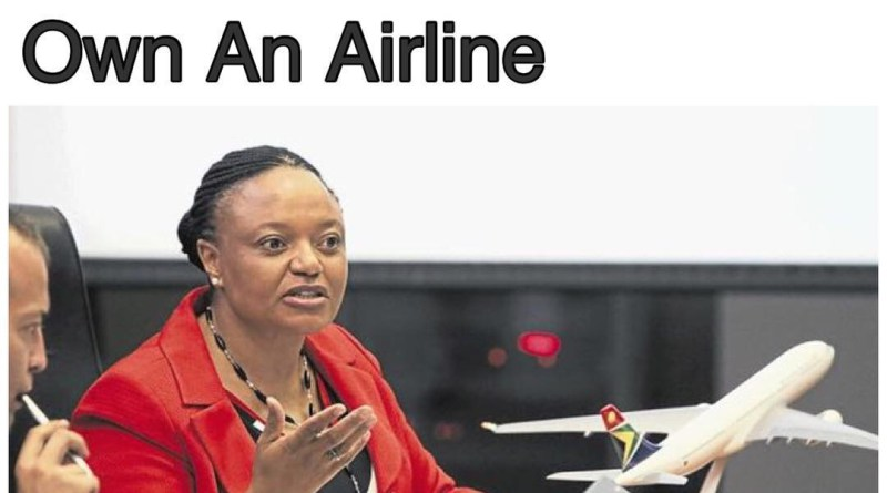 Siza Mzimela Becomes First Black Woman To Own An Airline