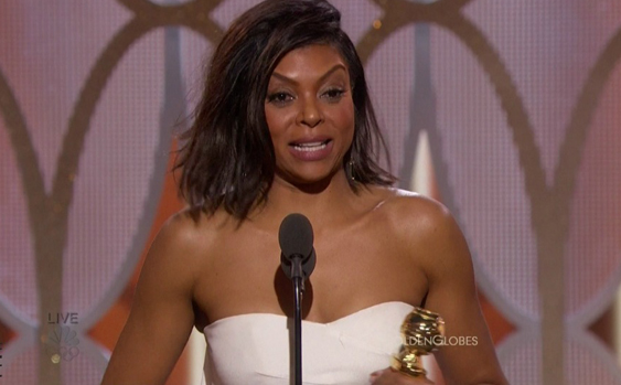 Taraji On Golden Globe Win : I Didn't Expect Them To Call My Name