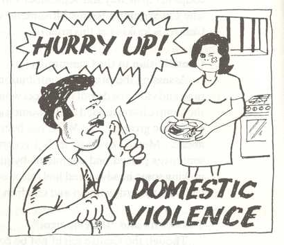 Domestic violence – Choices we make in Life.
