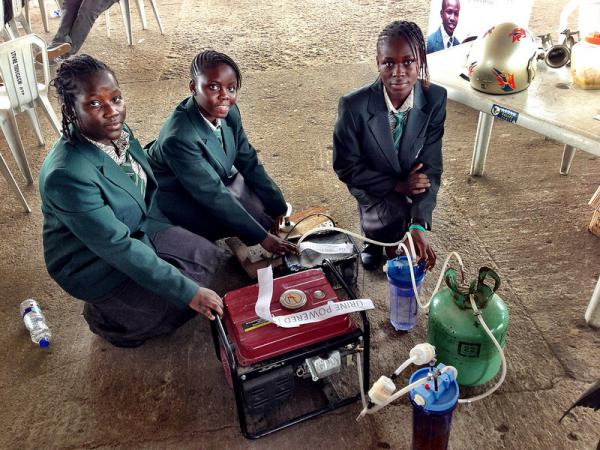 4 African Girls Have Created A Generator That Produces Electricity For 6 Hours Using A Single Liter Of Urine As Fuel