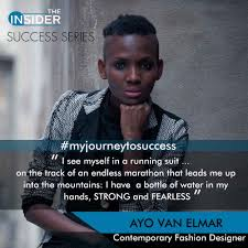 The Marathon : Ayo Van Elmar Talks About The Attitude For Success As A Young And Daring Entrepreneurer