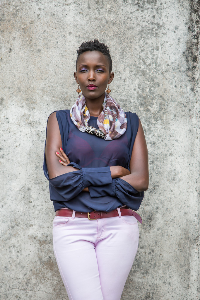 """I have kept my vision alive by being authentic and keeping my eye on the ball."" – Chebet Mutai, Creative Director of WazaWazi Kenya"
