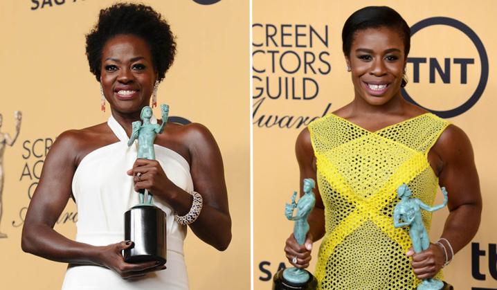 SAG Award Winners: Viola Davis & Uzo Aduba Make History