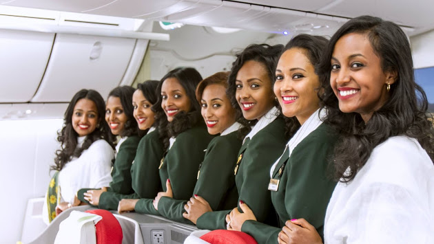 ETHIOPIAN AIRLINES INSPIRES AFRICAN WOMEN WITH ITS 1ST EVER ALL-FEMALE OPERATED FLIGHT