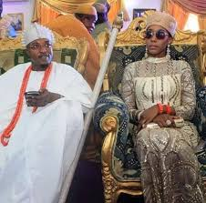Jamaican Woman Becomes Queen In Nigeria.