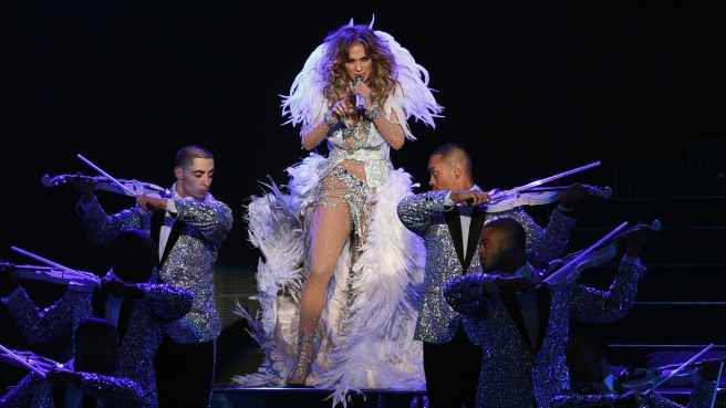 WEDDING OF THE CENTURY: Sights From $1Billion Wedding Jennifer Lopez Performed in Russia.