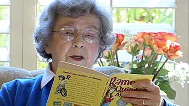 World Oldest Female Author 'Beverly Clearly' Reviews her Creativity.