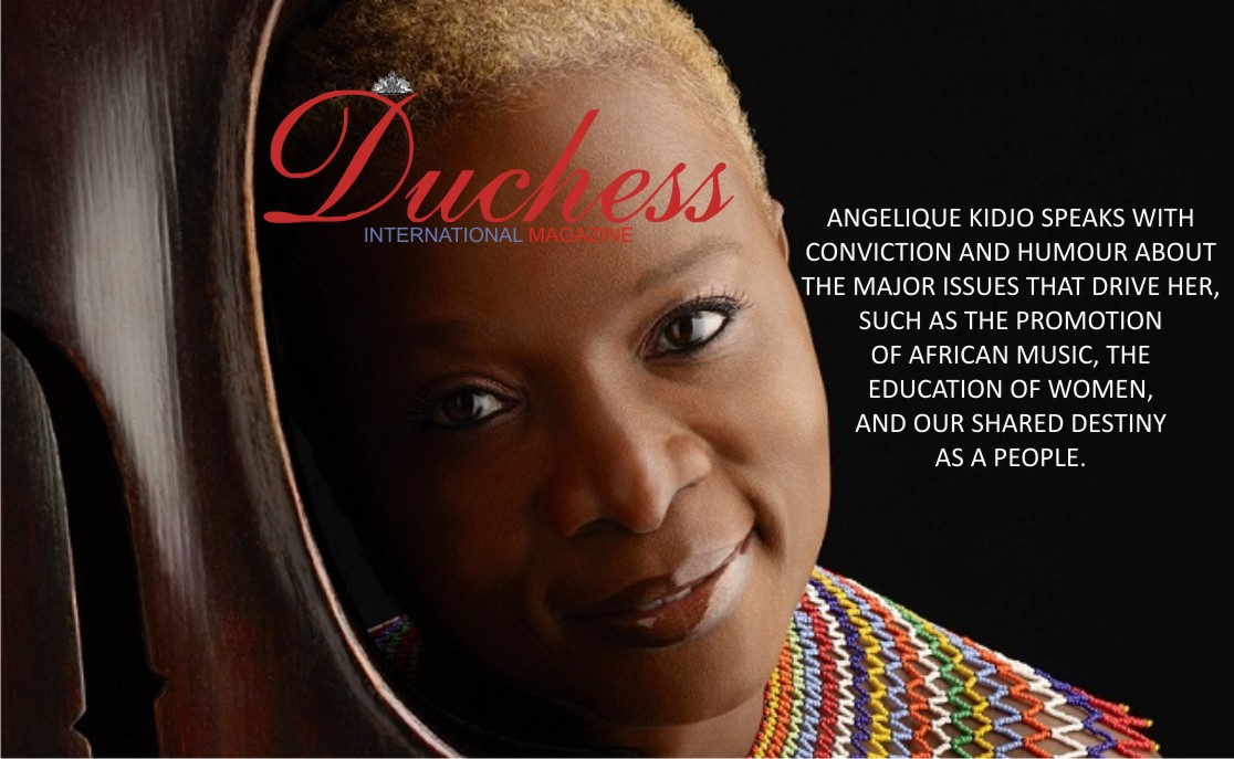 Angelique Kidjo Empowers women through Music.