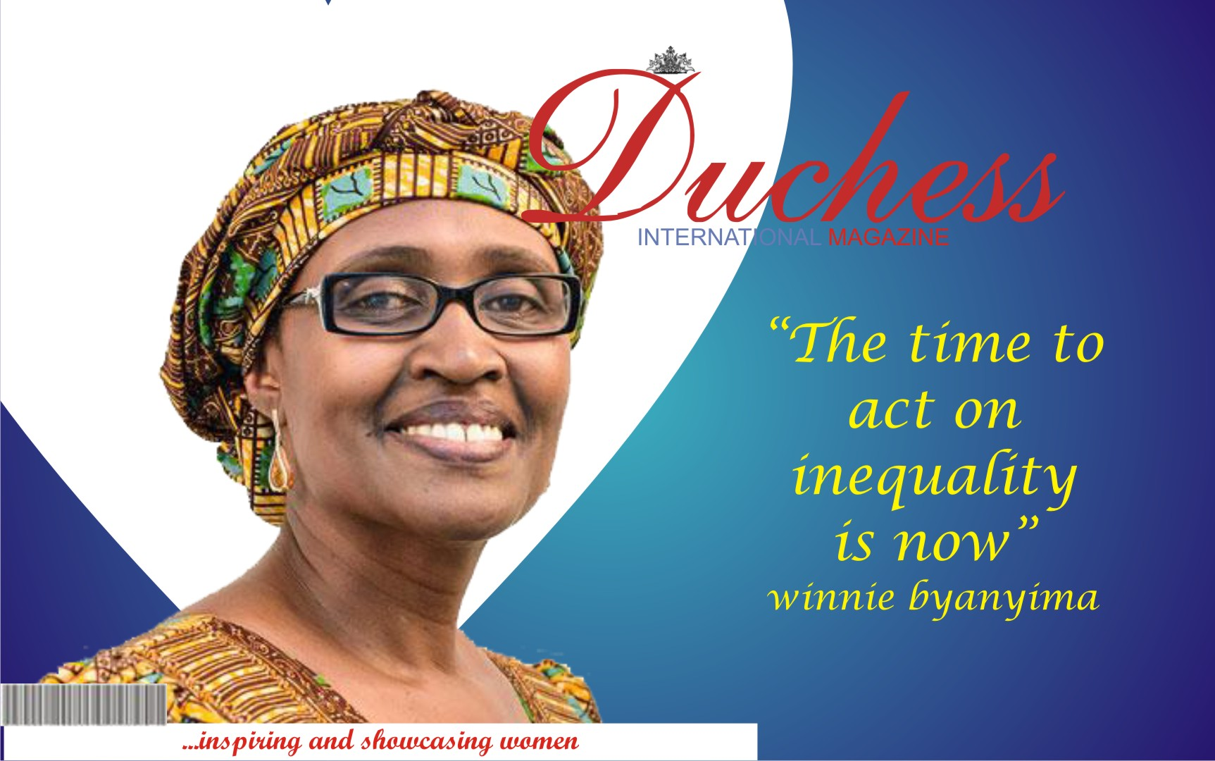 Winnie Byanyima: A True Example of Diligence and Determination.