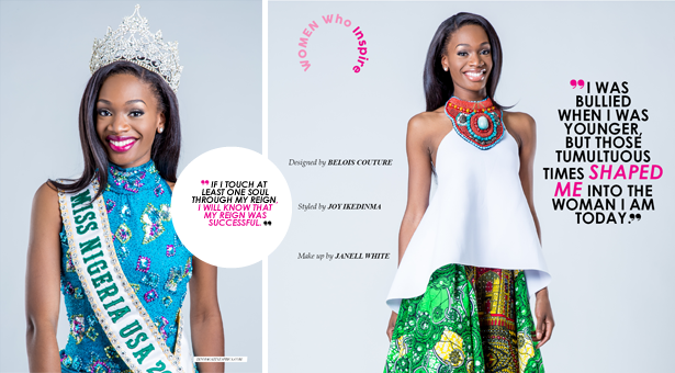 """EXCLUSIVE: """"I Was Bullied When I Was Younger"""" Interview with Miss Nigeria USA beauty queen Tosin Araromi"""