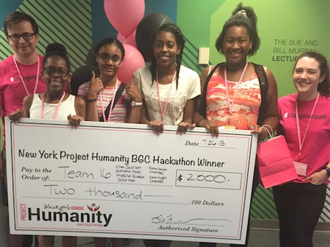 MEET THE SET OF GIRLS WHO WON A HACKATHON, BY DESIGNING AN INCREDIBLE APP.