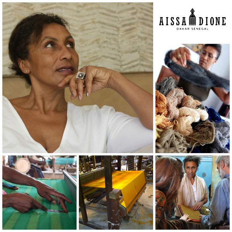 AISSA DIONE – THE STARTUP STORY OF AN INSPIRATIONAL AFRICAN TEXTILE REVIVALIST WHO HAS CAPTIVATED THE WORLD'S LEADING INTERIOR DESIGN BRANDS