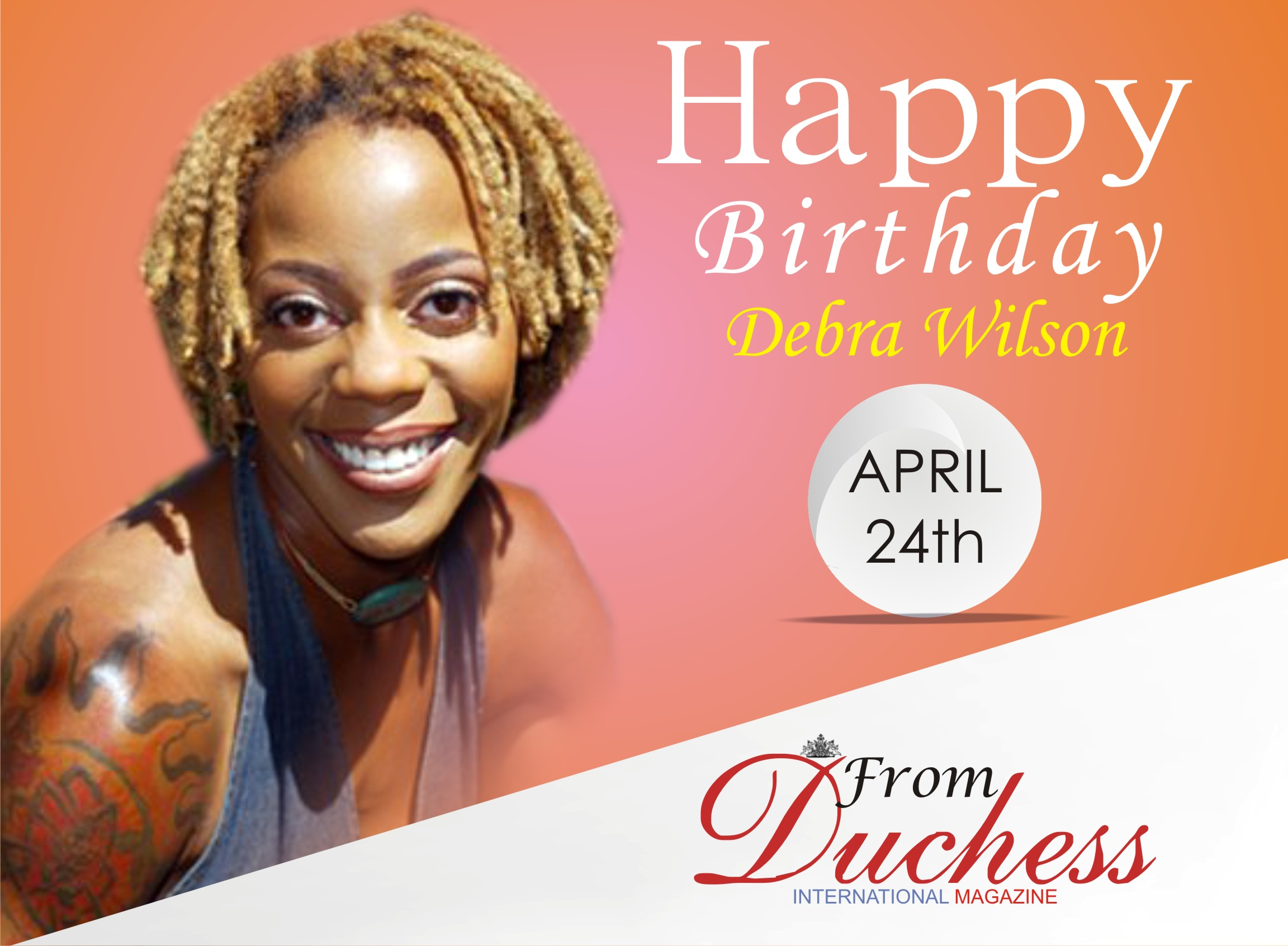 American Actress and Writer 'Debra Wilson' Turns 54 today