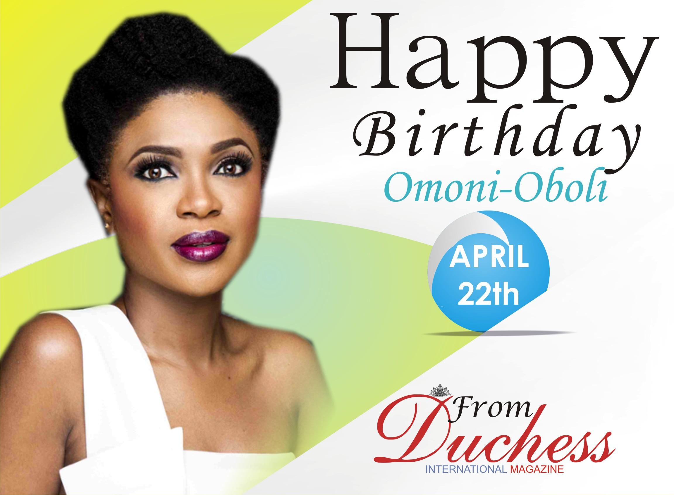 Omoni Oboli is a year Older Today.
