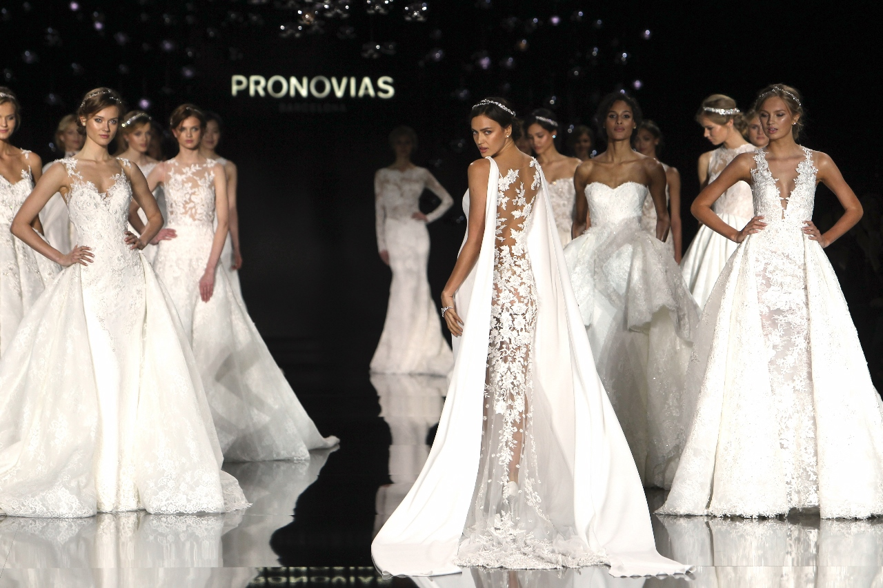 Pronovias 2017 Spring/Summer Collection is all about Bridals
