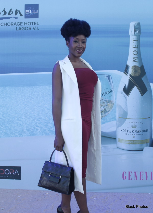 Stunning Pictures of  Beverly Naya, Lola Savage and & More at Moët Ice Impérial's All White Day Party at Radisson Blu.