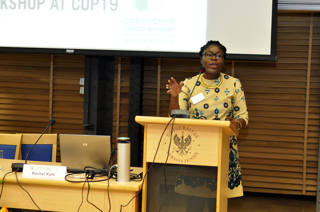 """""""Women are being left out of Africa's stories. I want to change that"""" says Eliza Anyangwe."""