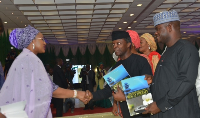 Aisha Buhari Launches Her First Book on Beauty Theraphy.
