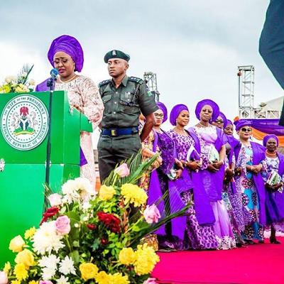 Aisha Buhari flags off Free Health Screening for women in Ibadan, Oyo state