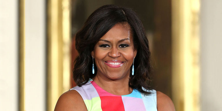 First Lady Michelle Obama Dishes Advice on Working Hard and Going to College