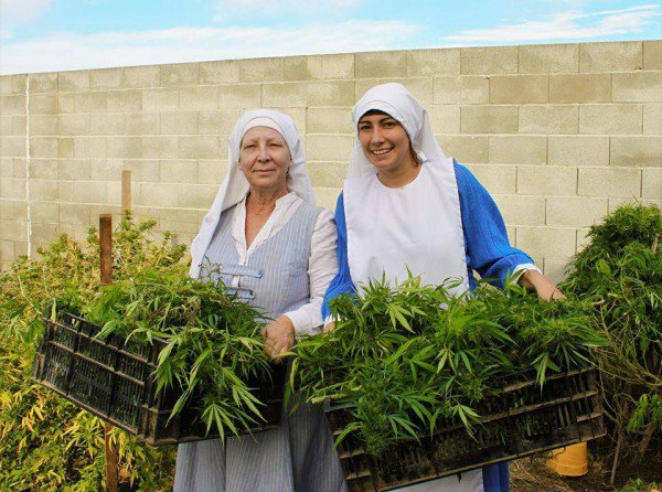 "The sisters of valley: Nuns who grow Cannabis ""Weed"" says its Medicinal."