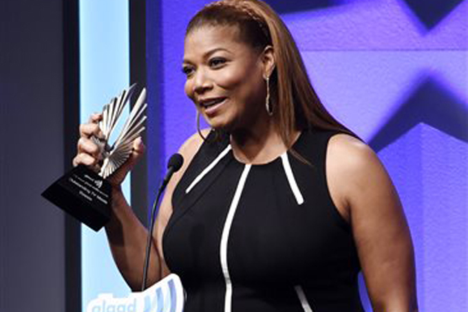 Queen Latifah,Taylor Swift,KeKe Palmer,NeNe Leakes, Caitlyn Jenner & More at the 27th Annual GLAAD Media Awards.