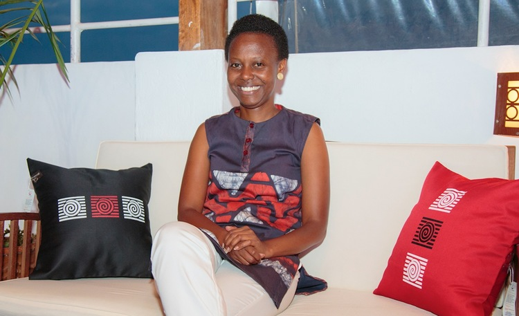 """""""Never underestimate your gift or talent, develop it and make use of it to the fullest."""" says Founder of Glo creations, Gloria Kamanzi Uwizera."""