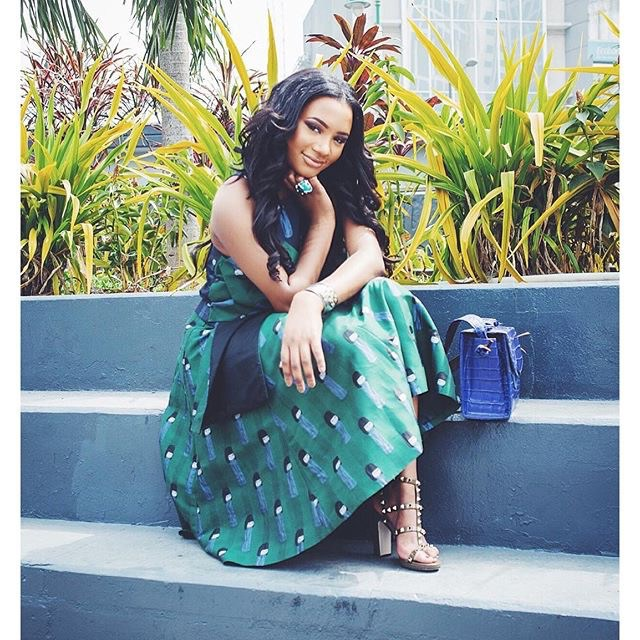 Fashion blogger, Temi Otedola present made in Lagos Series; See Pictures