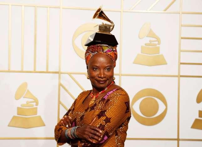 Musician Angélique Kidjo, Honoured with Amnesty International top human rights award.