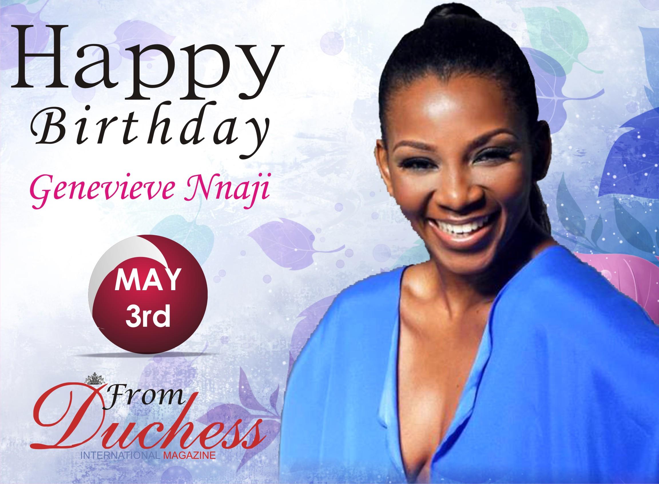 Nolly wood Veteran Actress Genevieve Nnaji is a year Older Today