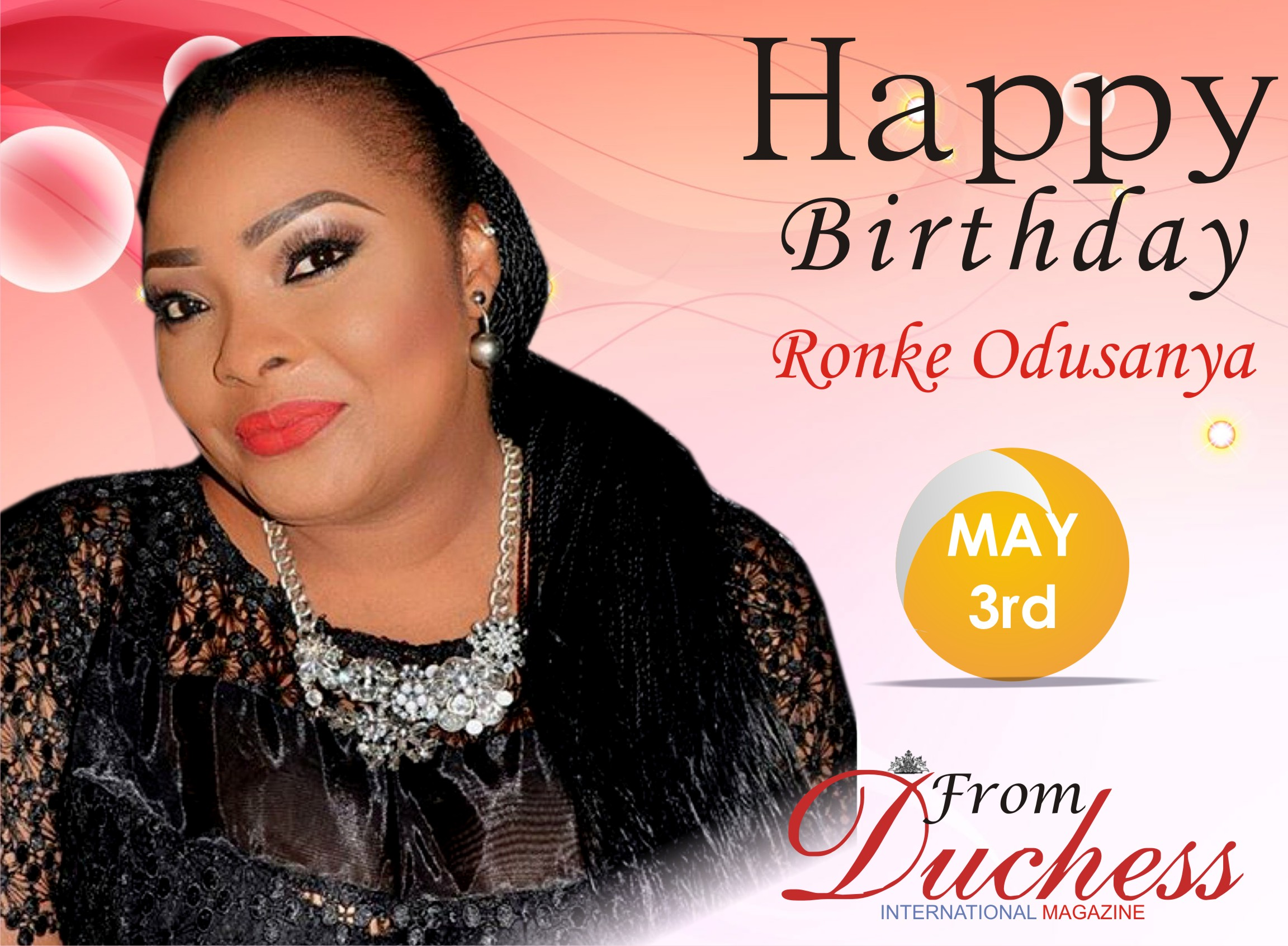 Nolly wood Star Actress Ronke Odusanya Adds another year today.