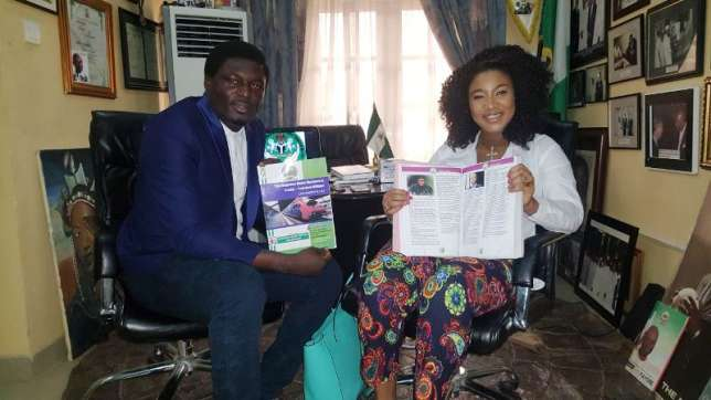 Tonto Dikeh Bags Endorsement Deal With real estate company