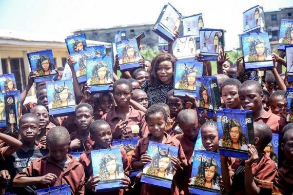 Actress, Ruth Kadiri Transformed Lives … Empowers Over 100 Primary School Students