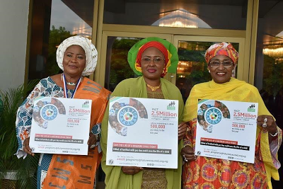 Nigerian Council of Women Society meets with Mrs Aisha Buhari