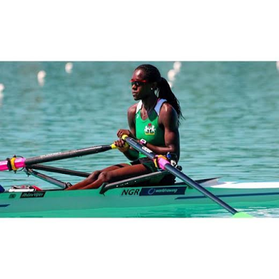 Meet Chierika Okogu, the first athlete to represent Nigeria in Rowing at the Olympics Games
