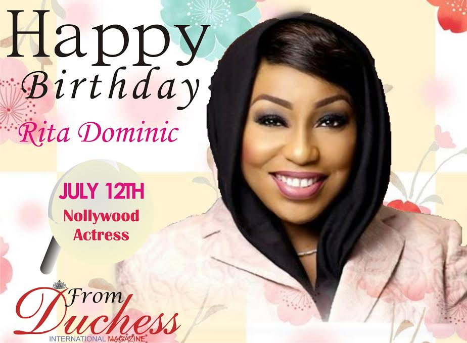 HAPPY BIRTHDAY TO A SCREEN DIVA- RITA DOMINIC