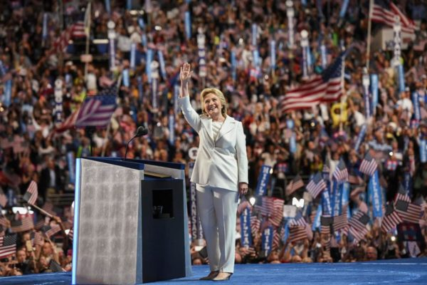 Hillary Clinton Promises 'Clear-eyed' Vision as She Accepts Nomination